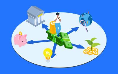 Diversify Investment 4 - Illustration
