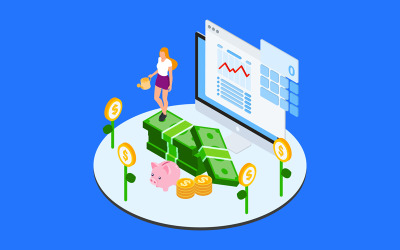 Financial Allocation For Projects 3 - Illustration