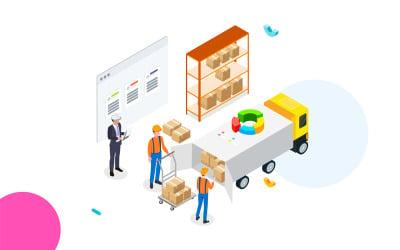 Goods management 2 - Illustration