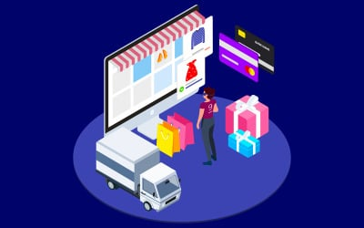Find Information of Products with VR Isometric 3 - T2 - Illustration
