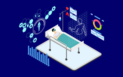 Interact With Virtual Doctors 1 - Illustration