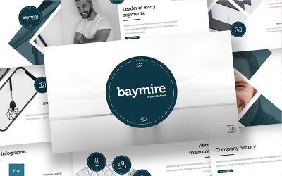 Baymire - Keynote template