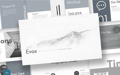 Evox - Keynote template