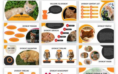 Oyencat - Creative Cat Google Slides