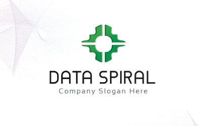 Data Spiral Logo Template