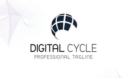 Digital Cycle Logo Template