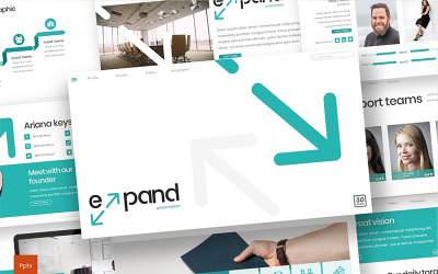 Expand PowerPoint template