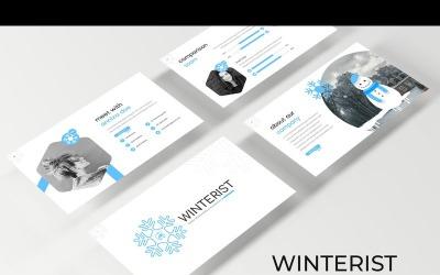 Winterist - Keynote template