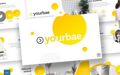 Yourbae - Keynote template