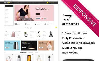 Flairmart - The Mega Store OpenCart Template