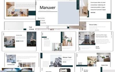 Manuver - Keynote template