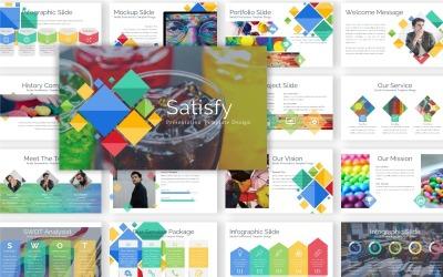 Presentación satisfactoria - Plantilla Keynote