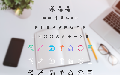Web App Icon Set