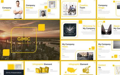 Gimic - Keynote template