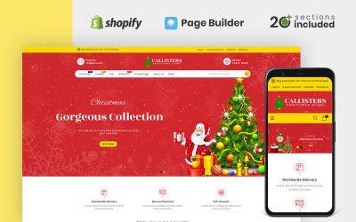 Tienda de regalos Callisters Tema Shopify