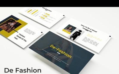 De Fashion - Keynote template