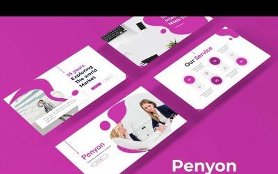 Penyon - šablona Keynote
