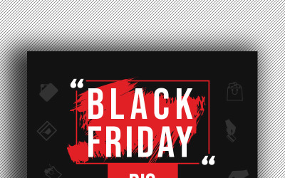Black Friday Flyer - Corporate Identity Template