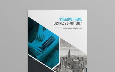 Business Bi-Fold Brochure - Corporate Identity Template