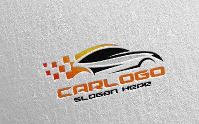 Car 4 Logo Template