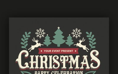 Christmas Party Celebration - Corporate Identity Template