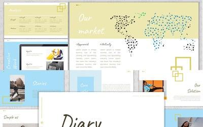 Diary Google Slides