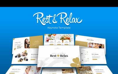 Rest & Relax - Keynote template