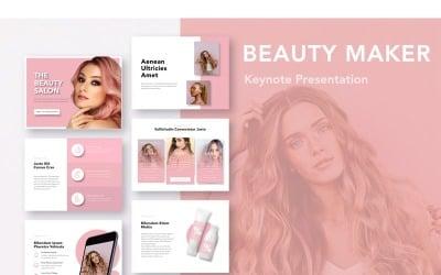 Beauty Maker - Keynote template