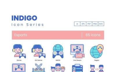 65 eSports Icons - Indigo Series Set