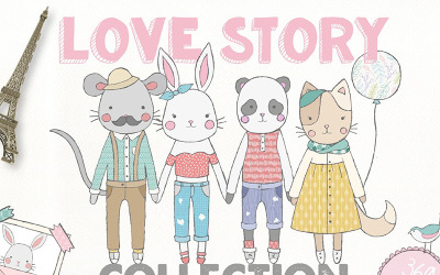 Love Story Collection - Illustration