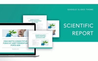 Scientific Report Google Slides