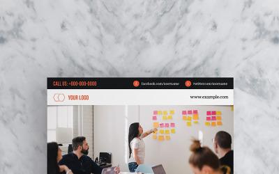 Web Designer Agency Flyer - Corporate Identity Template