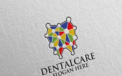 Dental, Dentist stomatology Design 2 Logo Template