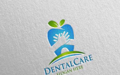 Dental, Dentist stomatology Design 3 Logo Template