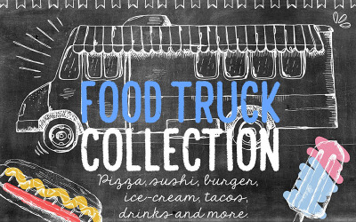 Food Truck Collection - Illustration