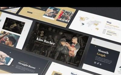 Kios Barber - Keynote template