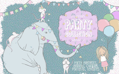 Party Collection - Illustration