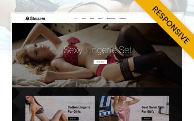 Blossom - Underklädesbutik WooCommerce-tema