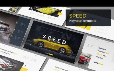 Speed - Keynote template