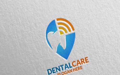 Dental, Dentist stomatology Design 20 Logo Template