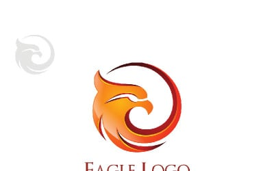 Eagle fly, with Falcon or Hawk concept 1 Logo Template