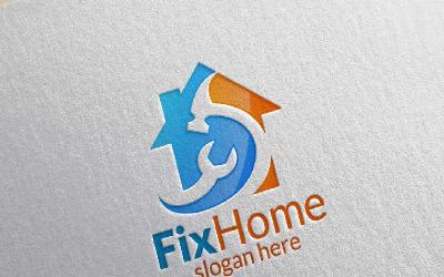 Fix Home 2 Logo Template