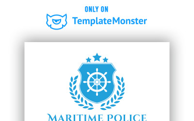 Maritime Police Logo Template