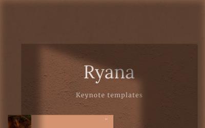 RYANA - Keynote template