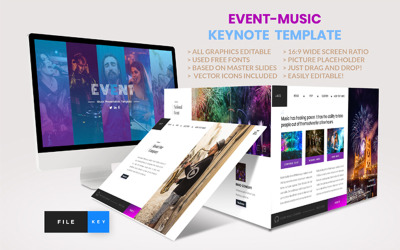 Event - Music - Keynote template
