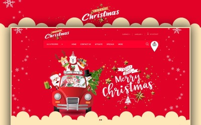 Merry-Christmas - Gift Store OpenCart Template