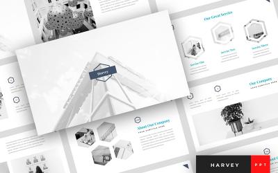 Harvey - Creative Presentation PowerPoint Template