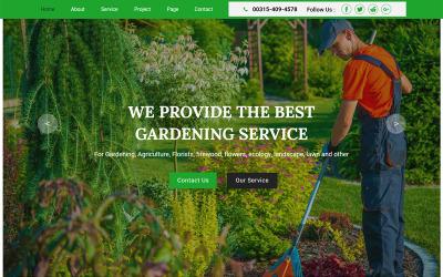 Greencare - Garten & Landschaftsbau Muse Vorlage