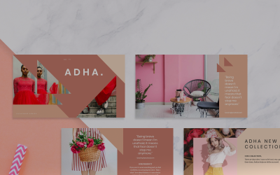 ADHA PowerPoint Template