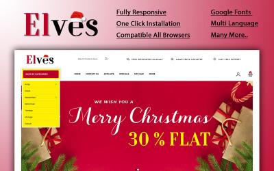 Elves - Christmas Store OpenCart Template